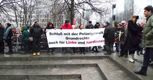 Große Solidarität beim Prozess gegen kurdische Aktivisten in München