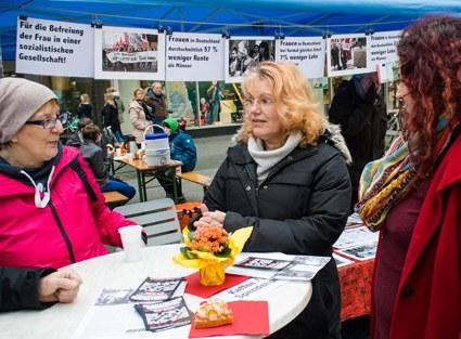Krefeld: Intensive Gespräche