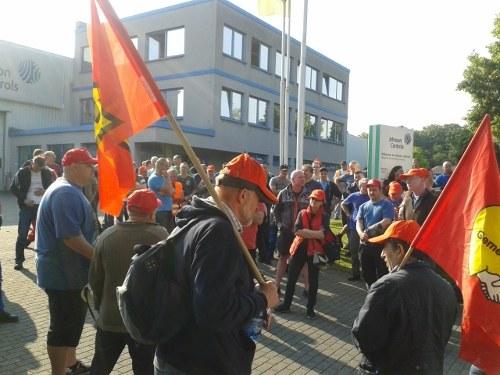 36-Stunden-Streik bei Johnson Controls und selbständige Kampfaktion bei Daimler/Sindelfingen