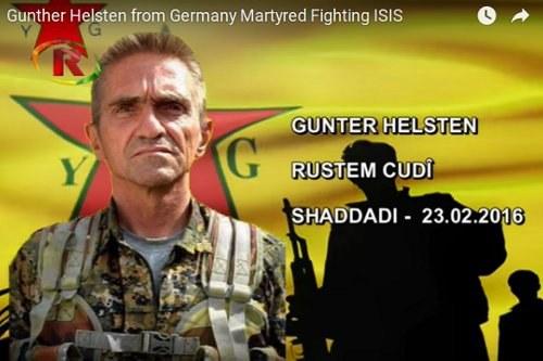 Günter Hellstern ist in Rojava gefallen