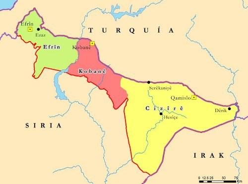 """""""Hiermit gründen wir ein föderales demokratisches System für Rojava/Nordsyrien"""""""