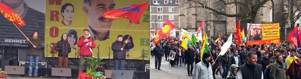 Eindrucksvolle Newroz-Demonstration und Feier