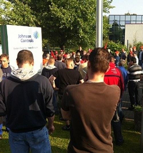 """""""Johnson Controls-Bochum: 34 Stunden selbständiger Streik! - da geht noch mehr!"""""""
