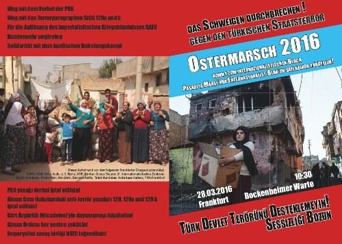 Ostermarsch 2016: Aktiv werden für Frieden und Sozialismus