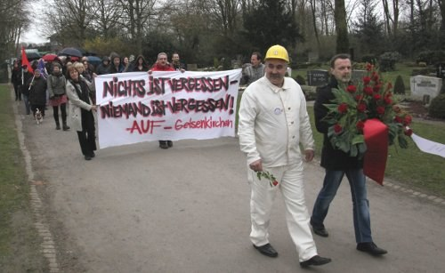 96 Jahre Gedenken an den Märzaufstand der Bergarbeiter im Ruhrgebiet