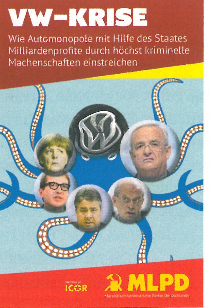 VW-Krise – Paradebeispiel für die Skrupellosigkeit des internationalen Finanzkapitals