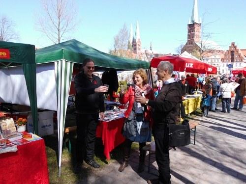 Ausschluss von MLPD und DKP vom DGB-Maifest in Lübeck muss zurückgenommen werden!