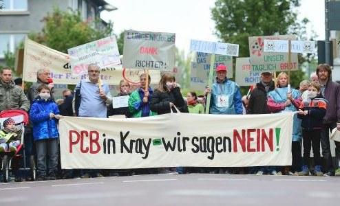 Krayer Bürgerversammlung gegen PCB: Behörden kneifen