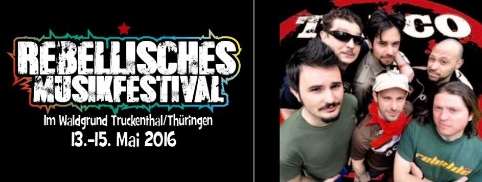 Talco kommt aufs Rebellische Musikfestival