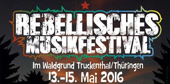 """Verwaltungsgericht Meiningen genehmigt faschistisches Rechtsrock-Konzert - kommt zum antifaschistischen """"Rebellischen Musikfestival"""" vom 13. bis 15. Mai!"""