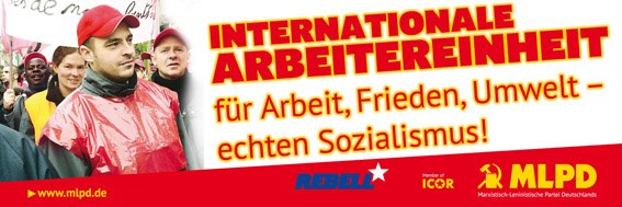 Gebt Antikommunismus keine Chance! Gegen den Versuch, die MLPD am 1. Mai auszugrenzen