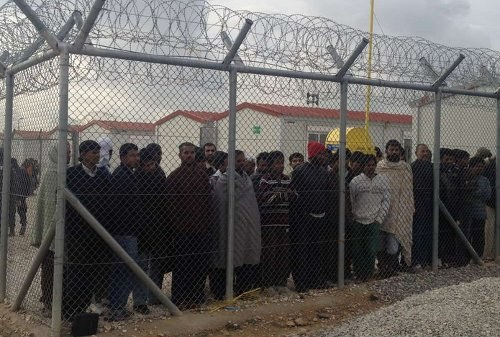 Griechenland: Aufruhr der Flüchtlinge im Lager Moria