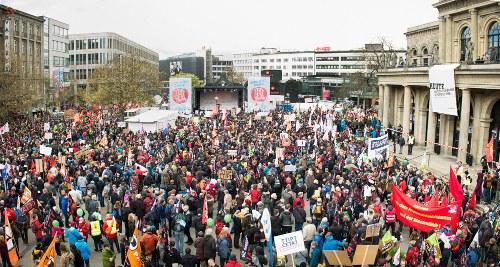 Hannover: Wachsende Gegnerschaft gegen TTIP und Co