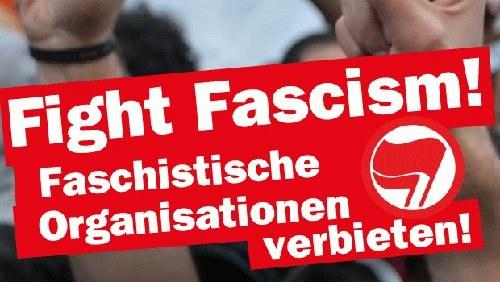 Keinen Fußbreit den Faschisten am 7. Mai in Hildburghausen!