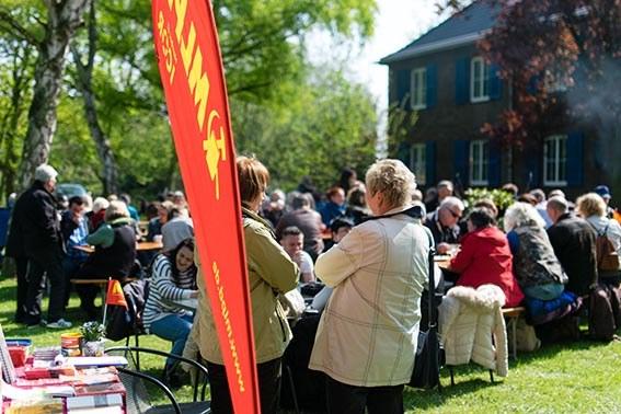 Gelsenkirchen: Bestens gelaunte Gäste auf 1.-Mai-Feier
