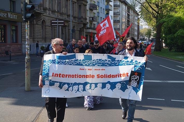 Mainz: Jugendverband REBELL spricht auf 1.-Mai-Demonstration