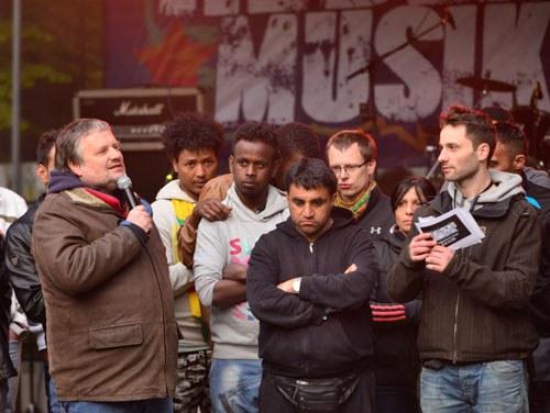 Rebellisches Musikfestival mit vielen Besuchern und gelebter Solidarität