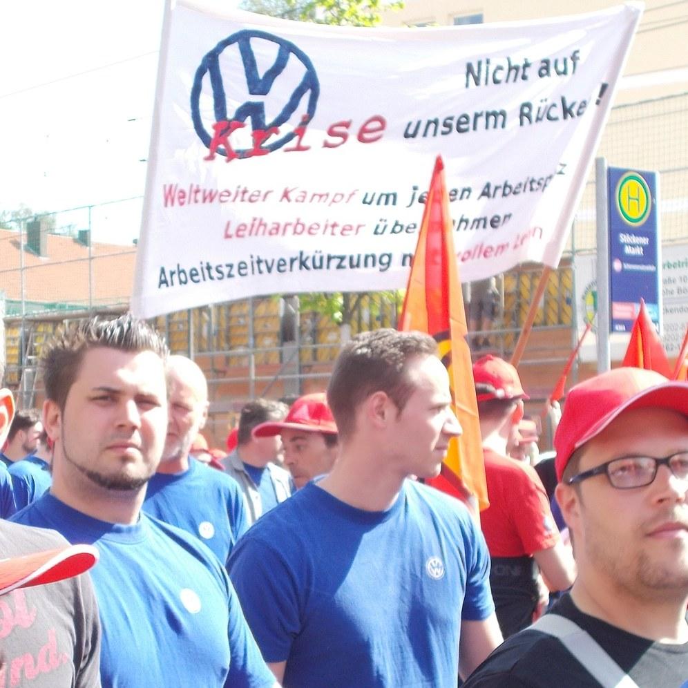 Wachsende Mobilisierung im Tarifkampf der Metaller - VW-Arbeiter vorne dran