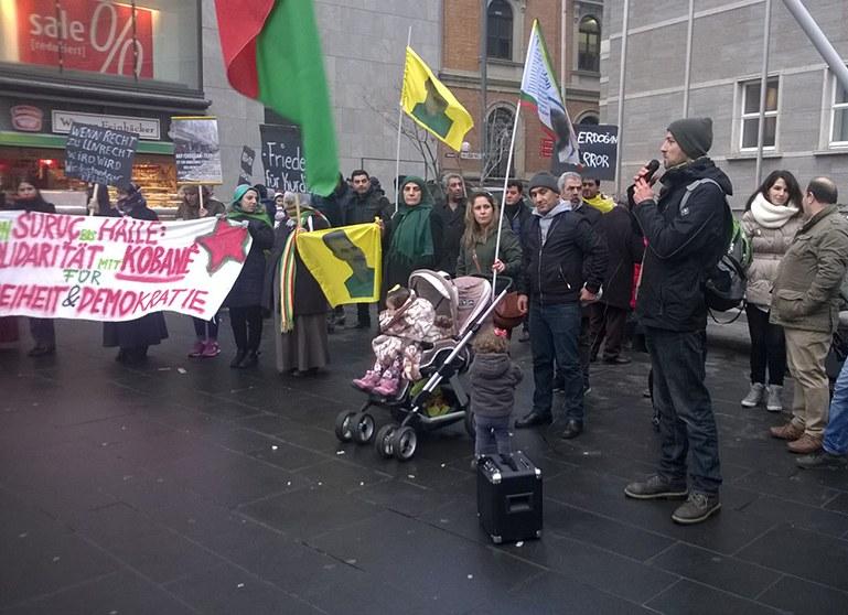 Proteste gegen türkischen Staatsterror