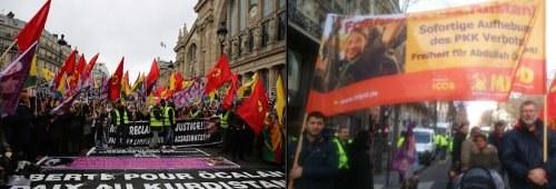 Zehntausende demonstrierten in Paris zum Gedenken an kurdische Revolutionärinnen