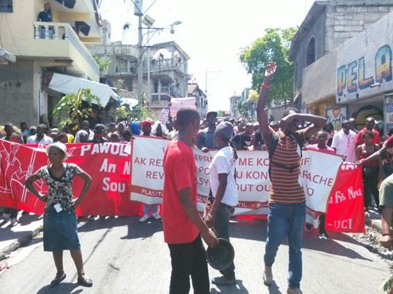 Haiti: Streik von Textilarbeiterinnen und -arbeitern