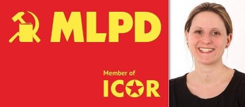Parteitag der MLPD: Diskussion mit Gabi Gärtner in Frankfurt am Main