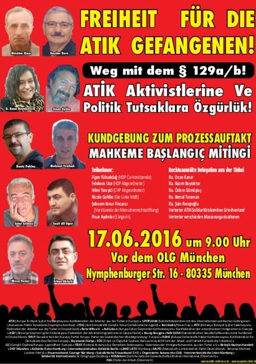 Antifaschismus und Befreiungskampf sind kein Terrorismus
