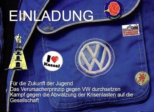 Komitee zum Kampf gegen die VW-Krise in Kassel gegründet