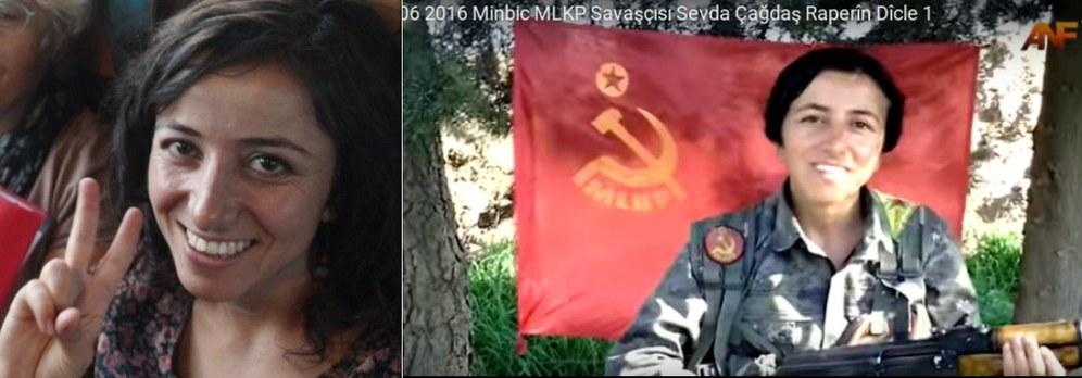 Kämpferische Weltfrau ist als MLKP-Kämpferin in Manbitsch gefallen