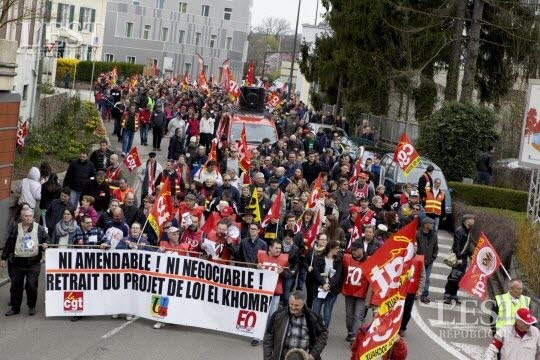 Frankreich: Fünf Monate Kampf gegen Arbeitsgesetz - Demonstration in Paris dauert zur Stunde noch an