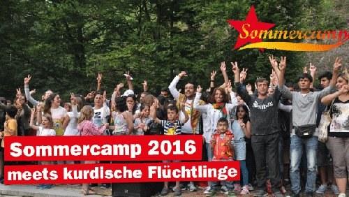 Sommercamp von REBELL und ROTFÜCHSE: Countdown läuft - Richtfest als Höhepunkt - Flyer jetzt auch auf Arabisch