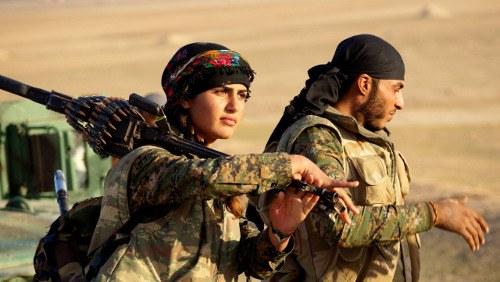 Faschistischer IS in der Defensive