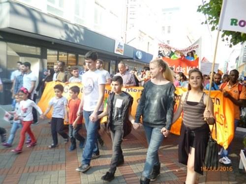Gelsenkirchen: Fulminante Montagsdemo
