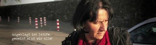 Ein Jahr Prozess gegen Latife Cenan-Adigüzel