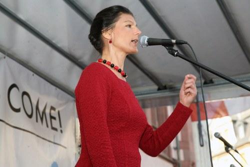 Sahra Wagenknechts flüchtlingsfeindliche Sprüche haben System
