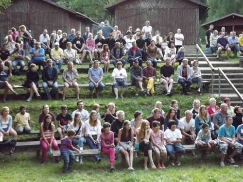 Samstag, 6. August: Ein ereignisreicher Tag in der Ferienanlage in Truckenthal!