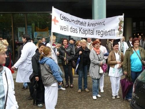 Angestellte der Ameos-Kliniken in Osnabrück und Hildesheim haben elf Wochen lang gestreikt