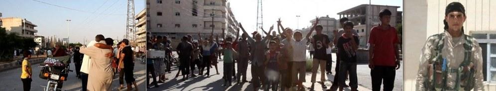 Demokratische Kräfte Syriens befreien strategisch wichtige Stadt Manbidsch