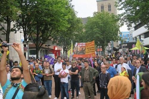 """Demonstranten in Dortmund festgenommen, weil sie """"was zur PKK sagten"""""""