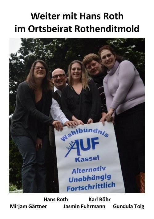 Kommunalwahlbündnis AUF Kassel fordert volle Aufklärung in Sachen Henschel-Gelände