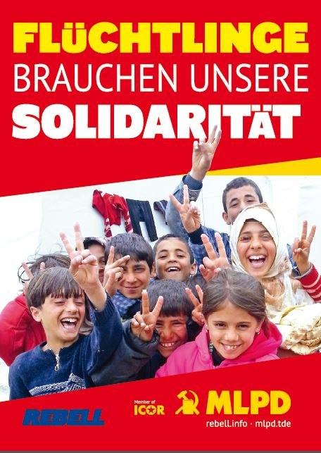 Aufkleber zur Flüchtlingspolitik erschienen!