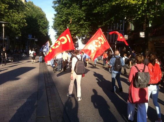 Breite Bündnisse am Antikriegstag auf der Straße für den Weltfrieden