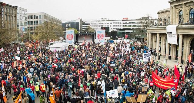 Wachsender Widerstand gegen TTIP: Am 17. September zur bundesweiten Großdemonstration in 7 Städten!