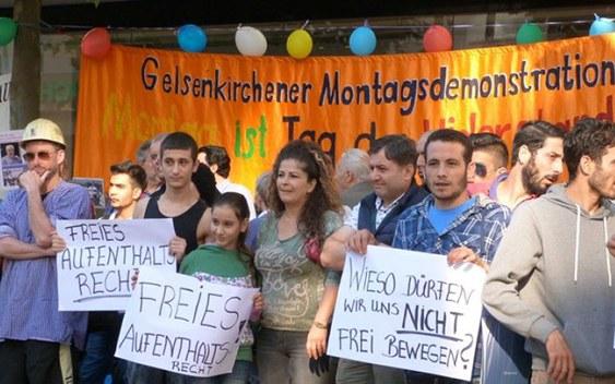 Montagsdemo und Flüchtlingsinitiative rufen auf zur großen ruhrgebietsweiten Demonstration am 26.9.