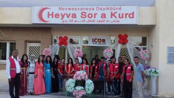 """halloherne"" berichtet über Gesundheitszentrum in Kobanê"