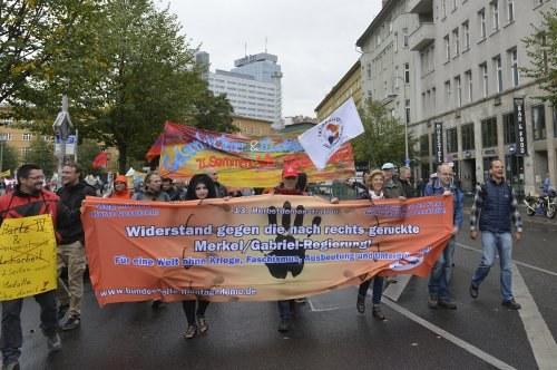 Vielfältige, bunte und begeisternde 13. Herbstdemonstration der Montagsdemo-Bewegung in Berlin