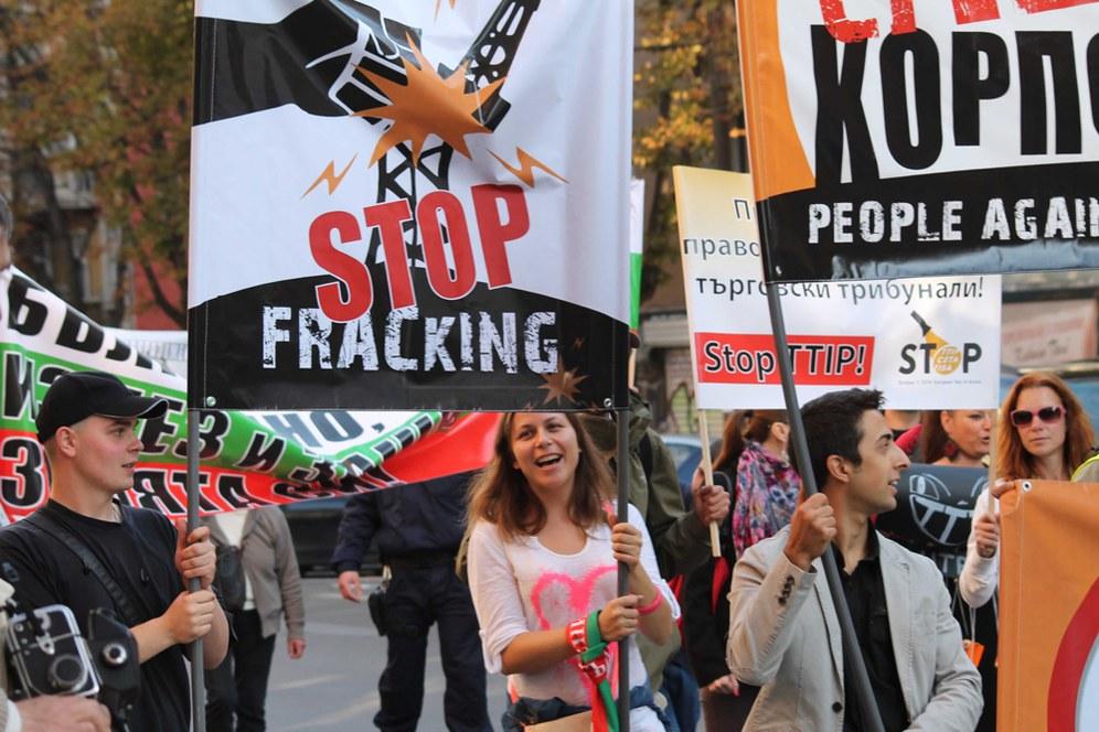 """Aktionstag gegen Fracking am 15. Oktober: """"Weder hier noch anderswo!"""""""