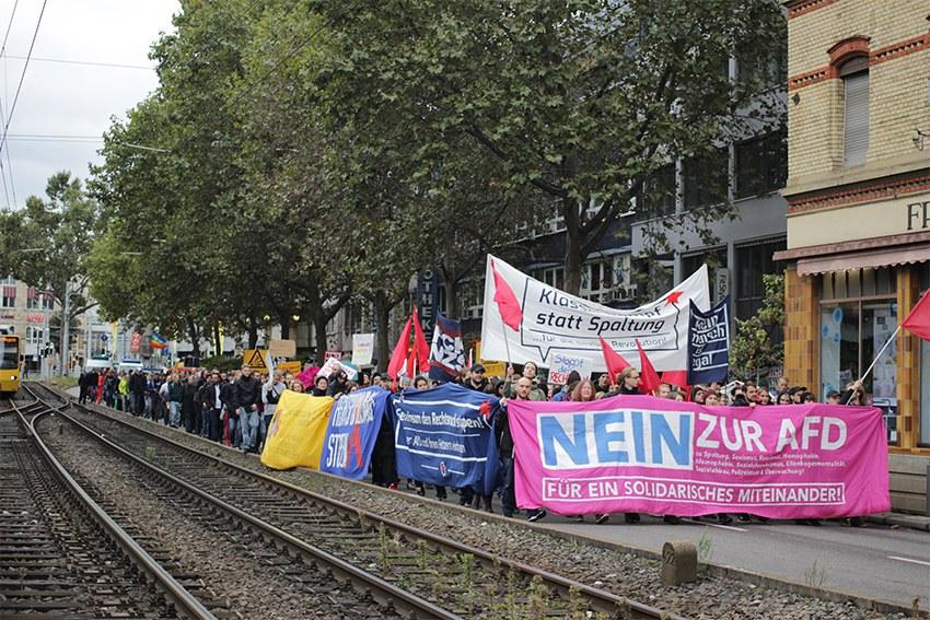 Stuttgart: Erfolgreiche Proteste gegen AfD-Veranstaltung am 3. Oktober