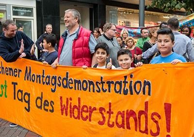 Montagsdemo Gelsenkirchen fordert: Sofortiger Stopp der Bombardierungen von Aleppo!