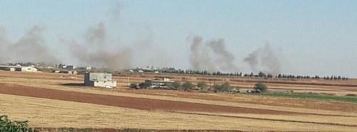 Rojava: Faschistisches Erdogan-Regime lässt Volksverteidigungseinheiten in Rojava bombardieren